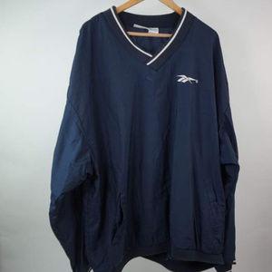 Vintage 90s Reebok Windbreaker Jacket Pullover 2XL